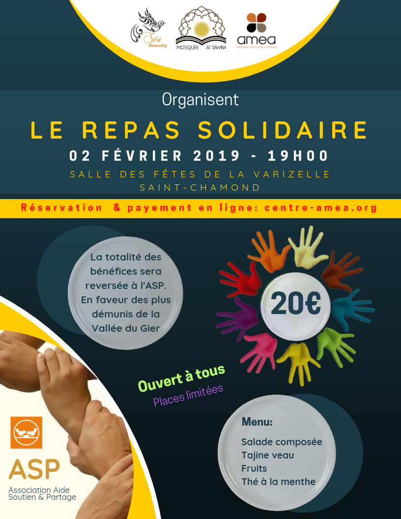 REPAS SOLIDAIRE 2019